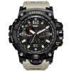 smael спортивные часы для мужчин из цифровой часы привели мужчин наручные часы montre homme большой мужчин часы, часы человек воен
