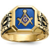 Hot Selling Personality Fashion 18k gold Plated Masonic Memorial religious Party ring( Size:7 8 9 10 11 12 13 14 15)