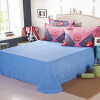 Шэн Вэй постельные принадлежности домашний текстиль хлопковые листы хлопок саржа двуспальные кровати 230 * 250 см британский ветер