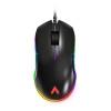 AZIO ATOM проводная игровая мышь игровая мышь Jedi выжить RGB курица мышь race core steelseries kinzu v3 игровая мышь проводная мышь белый