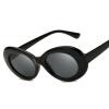 Женские полосатые солнцезащитные очки Красные оттенки солнцезащитные очки Овальные солнцезащитные очки женщин Модные люнеты солнцезащитные очки для стимпанк 9750