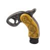 Ryanstar Racing Universal Novel shape Pistol handle Handles Gear Shift Knob ryanstar jdm su baru wrx impreza sti 5mt 6mt shift ручка