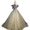 красочная спинка лента лук мяч платье свадьба чулки женские свадьба