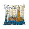 италия венеции знаковых национальных иллюстрация площадь бросить подушку включить подушки покрытия дома диван декор подарок