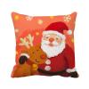 рождество санта - клауса снежинка лось фестиваль площадь бросить подушку включить подушки покрытия дома диван декор подарок лазарева и лось в облаке