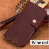 LANGSIDI натуральная кожа флип телефон чехол для iPhone X 6 6S 7 8 Плюс ретро сумасшедший кожи лошади пряжки стиль флип-покрой чехол накладка чехол накладка iphone 6 6s 4 7 lims sgp spigen стиль 1 580075