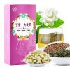 Цзинь Цуй Nongyuan Сирень ячменный чай здоровья Qi Cha китайский бергамот бергамот комбо сумки из травяного чая 100 г / коробка бергамот 5 мл 100