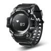 Смарт спортивные часы T1 OLED Дисплей сердечного ритма Мониторы IP68 Водонепроницаемый нажмите сообщение напоминание для Android и