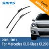 SUMKS Wiper Blades for Mercedes CLC-Class CL203 22&22 Fit Slider Arms 2008 2009 2010 2011 прокладка гбц illustrious auto parts 1 5l