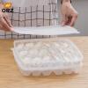 ORZ Кухонная кухня Пельмени для хранения ящиков с холодильником Контейнер для суши с крышкой суши