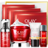 Olay Olay Skincare Set Newborn Plastic Face Golden Pure Classic 7pcs Set (Big Red Bottle Cream 50g + Elastic Eye Cream 15ml + Firming 5pcs Set)