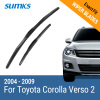 SUMKS Wiper Blades for Toyota Corolla Verso 2 26&16 Fit Hook Arms 2004 2005 2006 2007 2008 2009