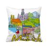 германия, мюнхен, исторической архитектуры площадь бросить подушку включить подушки покрытия дома диван декор подарок