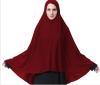 Сиси Цу шикарный мусульманский платок Женщины в шапке шляпа шляпа шляпа Ниндзя головной убор Исламская шея 12 цветов мусульманская cici