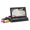 Простая установка CCD задняя камера Rearview Parking car Monitor 4.3 Складная складная задняя камера заднего вида TFT LCD камера заднего вида blackview uc 07 black