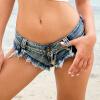 Летние пляжные штаны, сексуальные женские джинсы, шорты, горячие брюки, сексуальные брюки с низкой талией брюки wooly s брюки с завышенной талией killa
