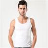 Мужские жилеты сплошной цвет однообразный молодежь случайные спортивные дно рубашка тенденция личности плечо ширина жилет прохладно жилеты cleverly жилет
