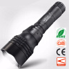 Diving Scuba Zoom LED Flashlight Underwater CREE Q5 Powerful LED Portable Light 18650 Rechargeable Handy Torchlight