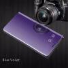 Samsung Galaxy S8 / S8 Plus роскошные слим зеркало Flip Shell стоят кожаные смарт - ясно, окна покрытия телефон дело оригинальный samsung galaxy s8 s8 plus nillkin 3d ap pro полноэкранный экранный протектор экрана