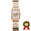 BRIGADA Цельные розовые золотые швейцарские часы для женщин, симпатичные роскошные женские женские часы,