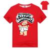 Captain Underpants Boys 'Short Sleeve T-Shirt Kids Cartoon Superman Одежда Летние хлопковые топы и тройники для девочек Мальчики К kenzo kids летние юбки для девочек