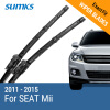 SUMKS Wiper Blades for SEAT Mii 24&16 Fit Hook Arms 2011 2012 2013 2014 2015 motorcycle parts rear seat cover tail section fairing cowl black for 2013 2014 2015 honda cbr500r cbr 500r