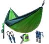 Кемпинг Гамак - Легкий нейлоновый портативный гамак, Лучший парашютный гамак для альпинизма, кемпинга, путешествия, пляж, двор. гамак kolombus
