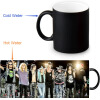 Guns and Rose 350ml/12oz Heat Reveal Mug Color Change Coffee Cup Sensitive Morphing Mugs Magic Mug Milk Tea Cups funny mug i love you to the moon and back 11 oz coffee mugs funny inspirational and sarcasm by a mug to keep tm