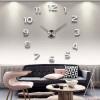 3D настенные часы безрамные Современные зеркальные металлы Большие настенные наклейки Часы настенные часы Room Home Decorations 3d настенные часы безрамные современные зеркальные металлы большие настенные наклейки часы настенные часы room home decorations