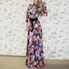 Lovaru ™ 2015 летом стиль женщин моды платье с длинными рукавами о-образным вырезом высокое качество Мягкие и удобные платья горячей продажи 2015 моды крюк уха gekkonidae ящерица горячей продажи серьги стержня популярные