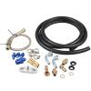 T25/T28 Water/Turbo Charger Oil Feed Line Kit turbo rebuild kit nis an sr20det w g rr tt t25 411 03076 001