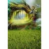 Big Green Bird Photo Backdrop 5 * 7FT Vinyl Fabric Cloth Цифровая печать Фон для фотографии S-3072 белый весенний фон 5 7ft vinyl fabric cloth цифровая печать photo studio backdrop s 3044
