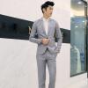 Мужские свадебные костюмы Bridegroom Prom костюмы Мужские куртки Blazers + Брюки Брюки