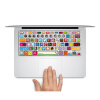 geekid @ MacBook Pro клавиши клавиатуры пропуск наклейки в американском стиле MacBook Air ключи наклейки логотипы клавиатура стикер
