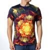Мужская круглая шея с надписью Cool Blouse Flower T-Shirts redfox футболка flower t 42 4300 желтый