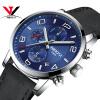 NIBOSI Часы наручные часы Мужчины моды случайные кварцевые наручные часы Спортивные часы кожаный ремешок Роскошный водонепроницаемый Montre Homme Saat