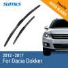 SUMKS Wiper Blades for Dacia Dokker 22&16 Fit Hook Arms 2012 2013 2014 2015 2016 2017 автомобили dacia в москве