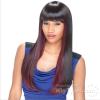 2018 бразильский парик шнурка настоящий шелковый парик волос, высокотемпературный шелк Qi Liu Hai прямая пряжка волос естественная химическая волокно высокотемпературный герметик в спб