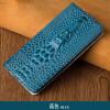 Роскошный чехол из натуральной кожи для iPhone X 6 6S 7 8 Плюс 3Dмодель головы дракона Невидимая крышка для телефона с магнитом