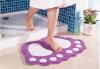 Коврик для ванной без скольжения Большие ноги Душевые коврики для душа Коврик для ковров Абсорбирующий коврик для пола (40 * 60
