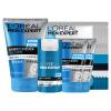 LOREAL Men's Aqua Увлажняющий комплект для ухода за кожей (очищающий бальзам 100 мл + увлажняющий крем 50 мл + очищающий 50mlx2 + Mask Monolithic x5)