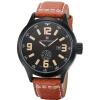 кожа мужчин кварцевые часы водонепроницаемые часы бесплатная доставка дайвинг спорт