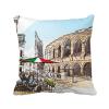 италия колизея архитектуры схеме площадь бросить подушку включить подушки покрытия дома диван декор подарок