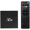 X96 TV Box Top Box Amlogic S905X Quad Core 2.4GHz WiFi HDMI 2.0 с USB 2.0 AV LAN TF слот для карт памяти m95 amlogic s905x quad core tv streamer box