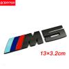 Значок эмблемы наклейки для логотипа 3D NEW M для BMW M X1 X3 F25 E70 E53 X6 E71 E60 E64 E39 E46 M3 M5