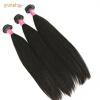 3pcs / lot 9a Качество 100% Virgin Brazilian Hair Unprocessed Человеческие волосы Weave hair tie 3pcs