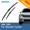 SUMKS Wiper Blades for Hyundai Tucson 24&16 Fit Hook Arms 2004 2005 2006 2007 2008 2009