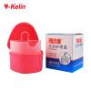 Коробка для зубных протезов Y-Kelin и зубная щетка устанавливают высококачественную зубную щетку для зубных протезов и фиксаторов, а также зубную щетку для зубных щеток