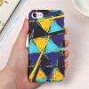 Мода жесткий Пластик крышка для iphone 7 8 плюс телефон Чехол Геометрическая алмаз тонкий матовый Капа Корпус для IPhone 6s 6 X кик игуана 6 5xr16 4x114 3 et35 dia66 1 алмаз ч рный цена