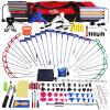PDR Paintless вмятина инструменты для ремонта крючки набор отражатель доска клей съемник PDR вмятина инструментов для удаления